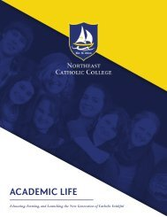 Northeast Catholic College Prospecting Brochure