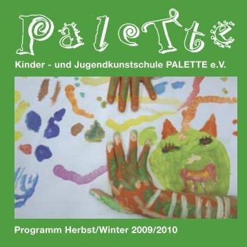 Kinder - und Jugendkunstschule PALETTE e.V. ... - Stadt Augsburg