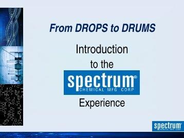 Spectrum Overview