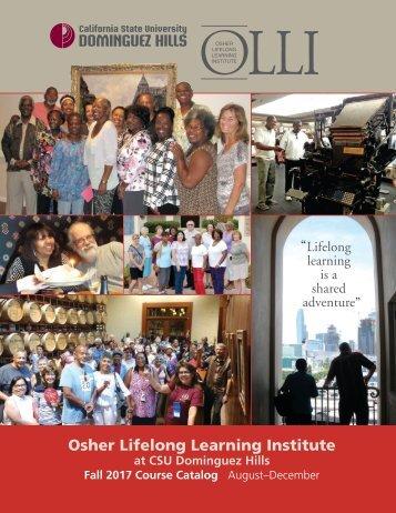 Fall 2017 OLLI Catalog