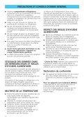 KitchenAid DPS 2500/H/4 - DPS 2500/H/4 FR (853962738030) Istruzioni per l'Uso - Page 3
