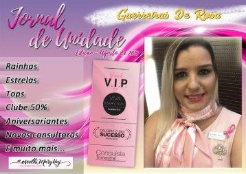 JORNAL DE UNIDADE - GUERREIRAS DE ROSA 082017