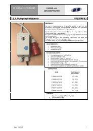 1.6.1. Pumpendirektstarter S752KM-BJ - R & S -Group