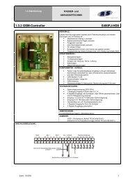 1.3.2 GSM-Controller S490FJ-HD8 - Abel Pumpen & Turbinen