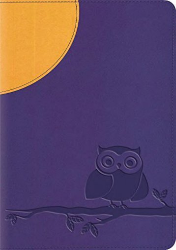 ESV Large Print Compact Bible (TruTone, Moonlight Owl) (ESV Bibles by Crossway)