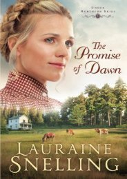 The Promise of Dawn (Under Northern Skies) (Lauraine Snelling)