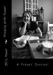 Praying with Power: 52 Weeks to a Deeper Relationship with God (Jill C. Power)