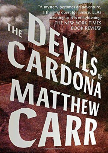 The Devils of Cardona (Matthew Carr)