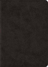 ESV Large Print Compact Bible (TruTone, Black) (ESV Bibles by Crossway)