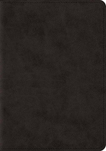 ESV Large Print Compact Bible (TruTone, Black) (ESV Bibles by Crossway)