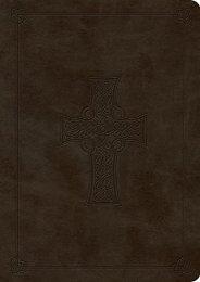 ESV Value Compact Bible (TruTone, Olive, Celtic Cross Design) (ESV Bibles by Crossway)