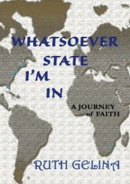 In Whatsoever State I Am (Ruth Gelina)