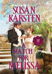A Match for Melissa (Honor s Point) (Susan Karsten)