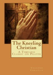 The Kneeling Christian (Unknown Christian)