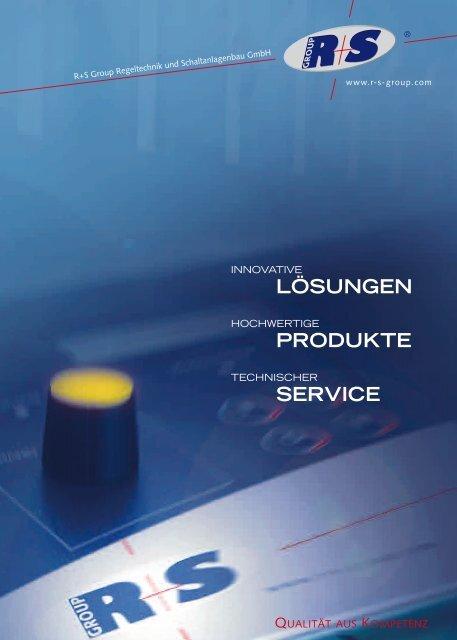 Lösungen Produkte service - R+S Group Home