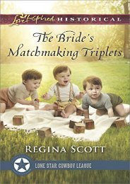 The Bride s Matchmaking Triplets (Lone Star Cowboy League: Multiple Blessings) (Regina Scott)