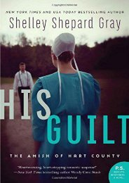 His Guilt: The Amish of Hart County (Shelley Shepard Gray)