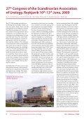 SCANDINAVIAN ASSOCIATION OF UROLOGY - Scaur.org - Page 6