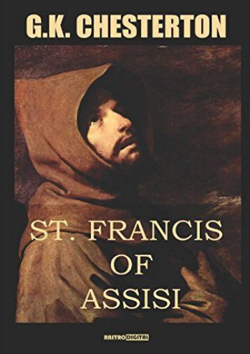 St. Francis of Assisi (G. K. Chesterton)