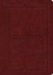 ESV Value Thinline Bible (TruTone, Cordovan, Vintage Frame Design) (ESV Bibles by Crossway)