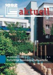 Freiwillige Genossenschaftsanteile - Berliner Bau- und ...