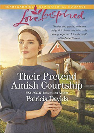 Their Pretend Amish Courtship (The Amish Bachelors) (Patricia Davids)