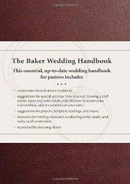 The Baker Wedding Handbook ()