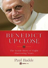 Benedict Up Close: The Inside Story of Eight Dramatic Years (Paul Badde)