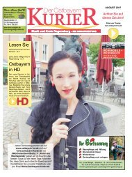SÜD Ostbayern-Kurier August 2017
