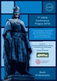 7th ESHS Conference Prague 2016