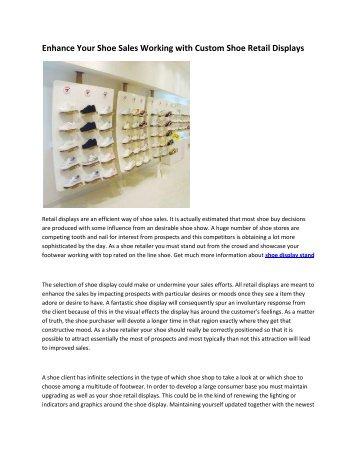 8 shoe display stand