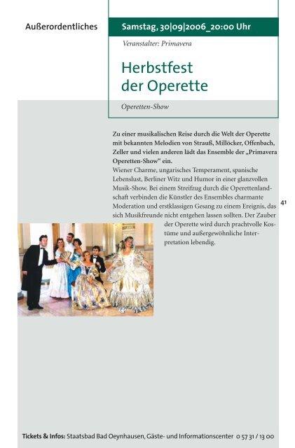Viel Theater! - Bad Oeynhausen