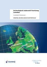 Archeologisch onderzoek Voortsweg Lonneker - ruimtelijke index ...