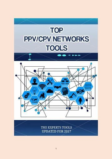 4 TOP PPV/CPV NETWORKS TOOLS