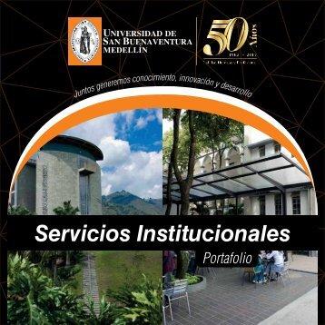 Portafolio de Servicios Universidad de San Buenaventura Medellín