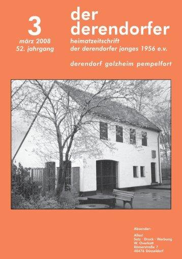 staltungen zum Jan- Wellem-Jahr - heimatverein derendorfer jonges ...