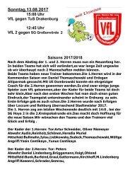 VfL- Drakenburg