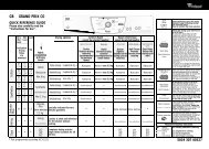 KitchenAid Grand Prix CO - Grand Prix CO EN (857589912030) Scheda programmi