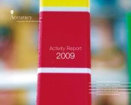 Activity Report - Accuracy
