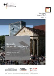 5. Bundeskongress Nationale Stadtentwicklungspolitik