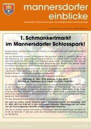 mannersdorfer einblicke - Mannersdorf am Leithagebirge