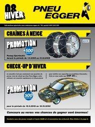 5.Stockage de pneus/roues chez Pneu Egger: un confort