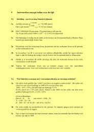 Antwoorden hoofdstuk 5 Ruil over de tijd