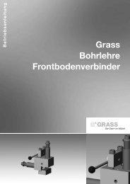 grass bohrlehre front-bodenverbinder