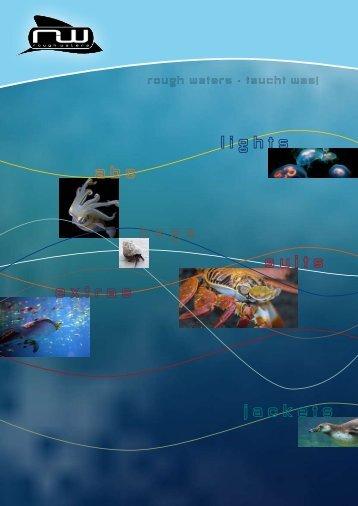 Katalog im PDF-Format - Rough Waters