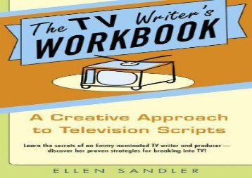 TV Writer s Workbook, the