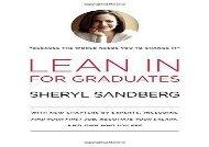 Lean in for Graduates