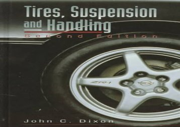 Tires, Suspension and Handling (Premiere Series Books)