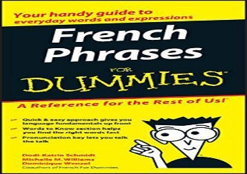 French Phrases for Dummies