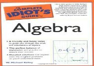 Complete Idiot s Guide to Algebra (Complete Idiot s Guides (Lifestyle Paperback))
